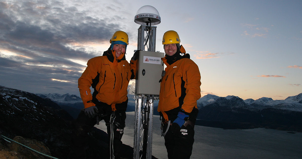 Lars og Atle / Oppstart Cautus Geo i 2009