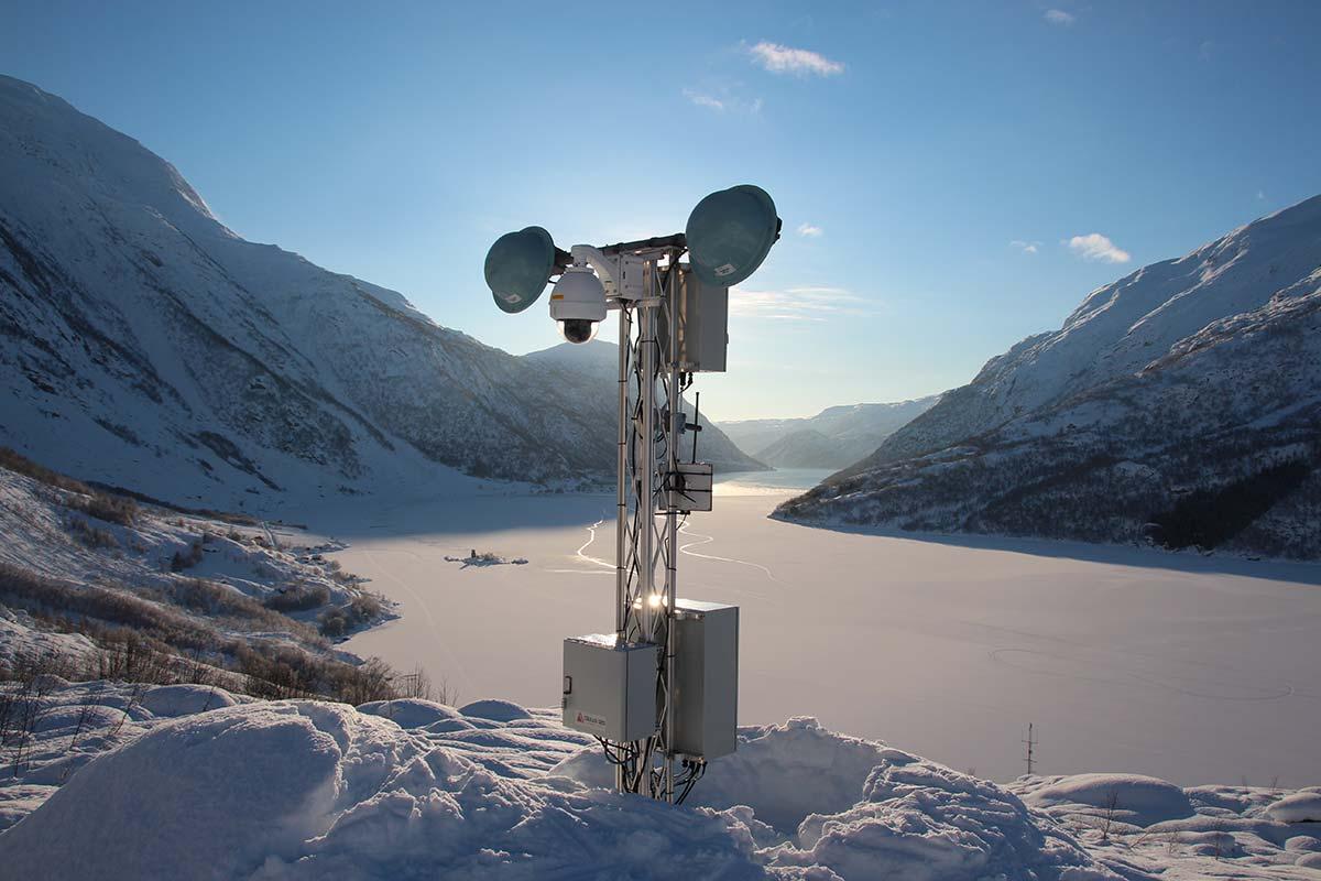 Snøskredovervåkingsprosjekt / Cautus Geo
