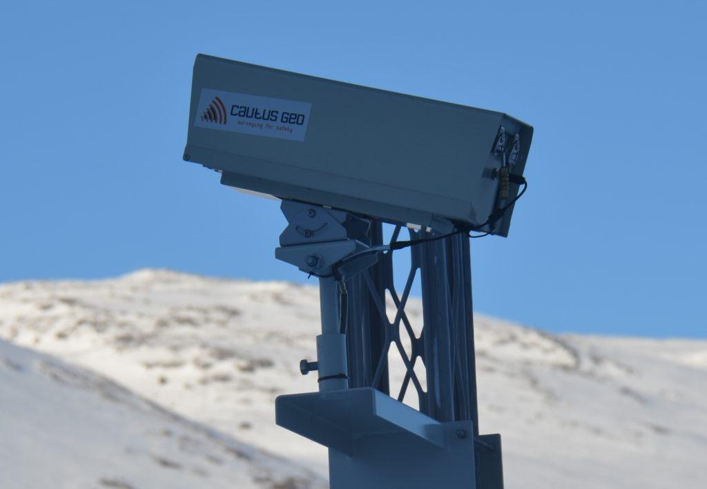 cautus kamera fanger fjellsprenging, snøskred og mer