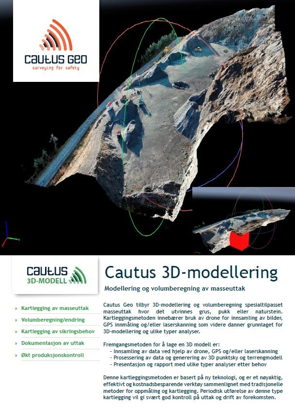 3D-modellering dataark