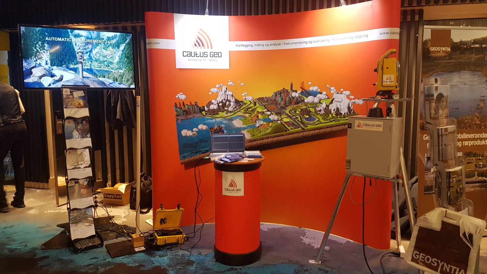Vi rigger opp egen stand på Fjellsprengningsdagen og Geoteknikkdagen i Oslo 21. – 22. november.