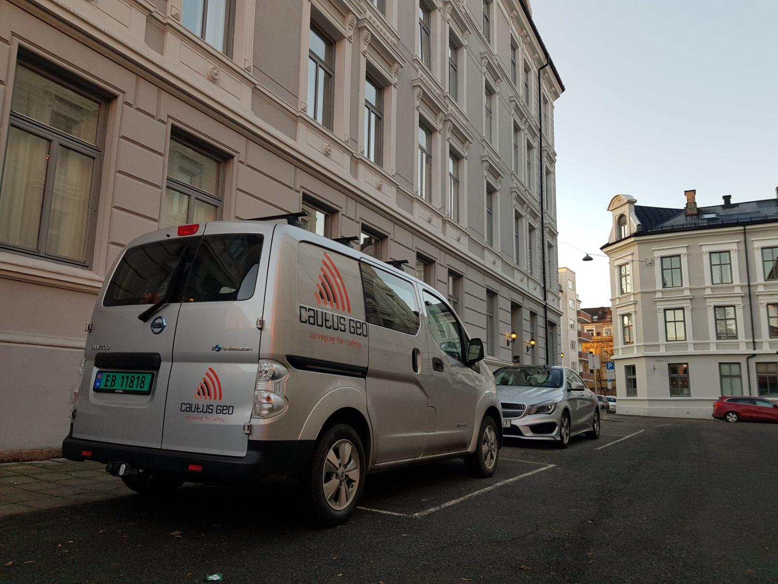 Vi kjører helelektrisk til bygg- og anleggsplasser sentralt på Østlandet.