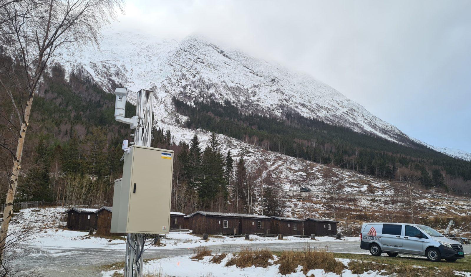 Radaranlegg i Vikedalen